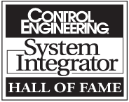 Control Engineering System Integrator Hall of Fame
